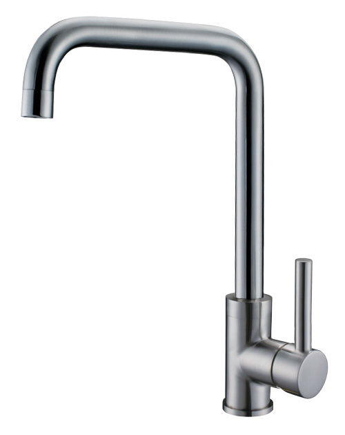 Brushed Kitchen Sink Mixer Faucet