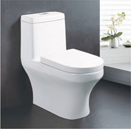 Super swirling Siphonic one-piece toilet no.5540