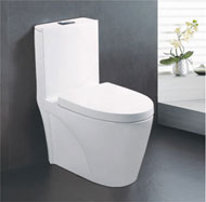 Super swirling Siphonic one-piece toilet no.5941