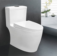 Super swirling Siphonic one-piece toilet no.5945